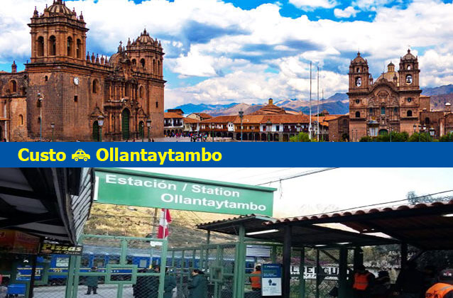Cusco à Ollantaytambo Transport