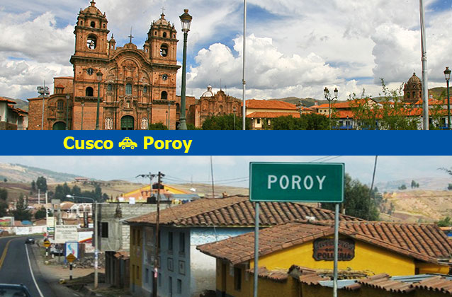 Cusco nach Poroy Transport