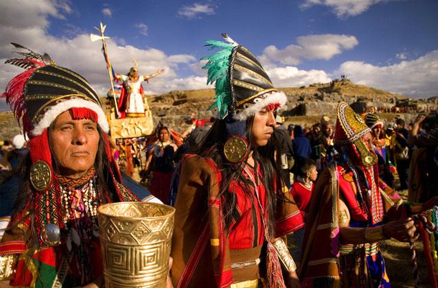 Ingresso Inti Raymi em seção laranja. Assentos preferidos.