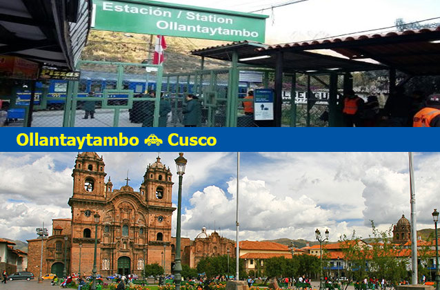 Vervoer van Ollantaytambo naar Cusco