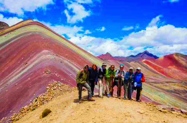 rainbow mountain tour 1day