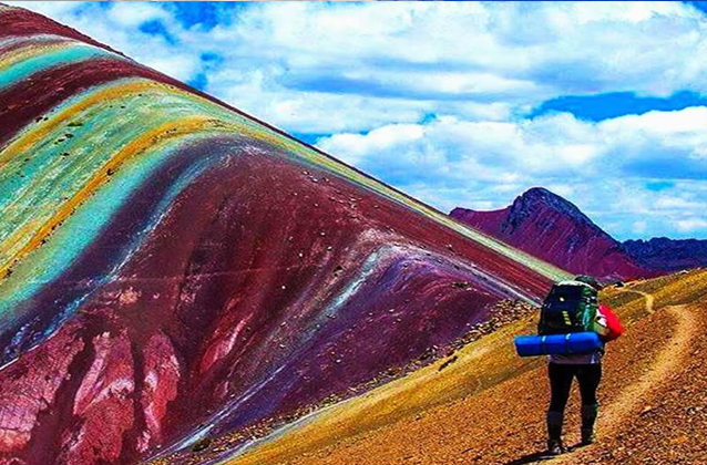 rainbow mountain tour hike