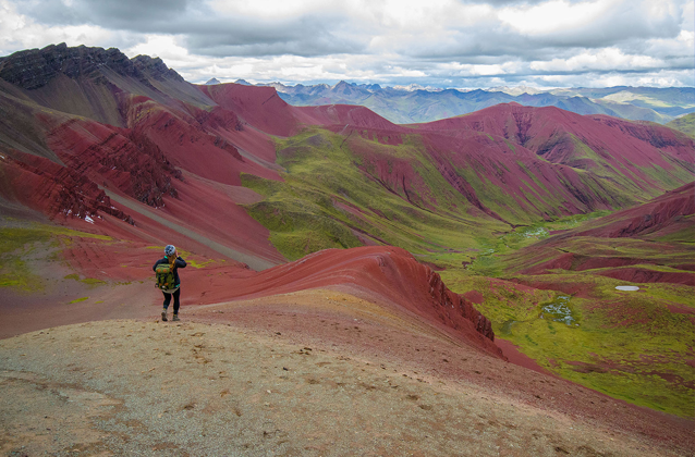 rainbow mountain valley tour